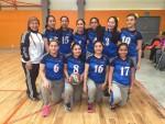 Selección de Volibol Femenil Secundaria Campeón Regional de Juegos Escolares